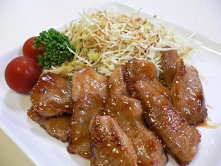 トロ 料理 豚